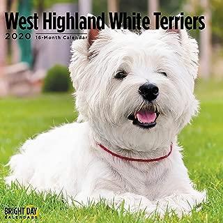 2020 West Highland White Terriers Calendar 16 Month 12 x 12 Wall Calendar by Bright Day Calendars (Terriers Collection) (West Highland White Terrier 2020)