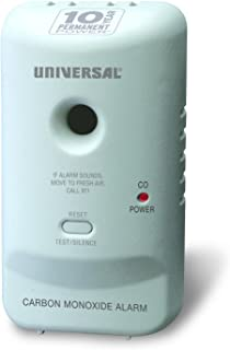 Universal Security Instruments 10 Year Tamper Proof Permanent Power Sealed Battery Carbon Monoxide Smart Alarm, Model MC304SB