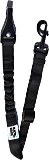 Black Rhino - Safety First Doggie Seat Belt - Adjustable Length - | Bungee Shock Absorption | Car Seat Belt Perfect for Small Medium Large Pets Dogs Cats - Safety Leads - Vehicle Seatbelt Harness