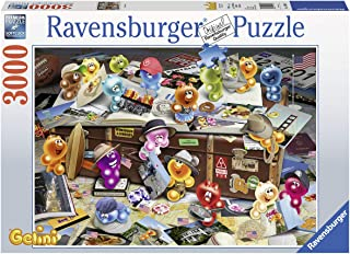 Ravensburger 17004 German Tourists - 3000 Piece Puzzle for Adults, Every Piece is Unique, Softclick Technology Means Pieces Fit Together Perfectly
