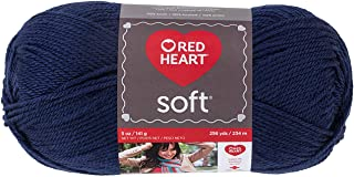 Red Heart Yarn Red Heart Soft Yarn (4604) Navy