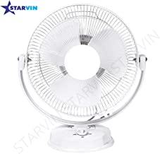 Starvin Laurels    All Purpose 3 in 1 Fan (Wall, Table and Ceiling    12 Inches    ISI Approved Copper Motor    1 Year Warranty    White K-39