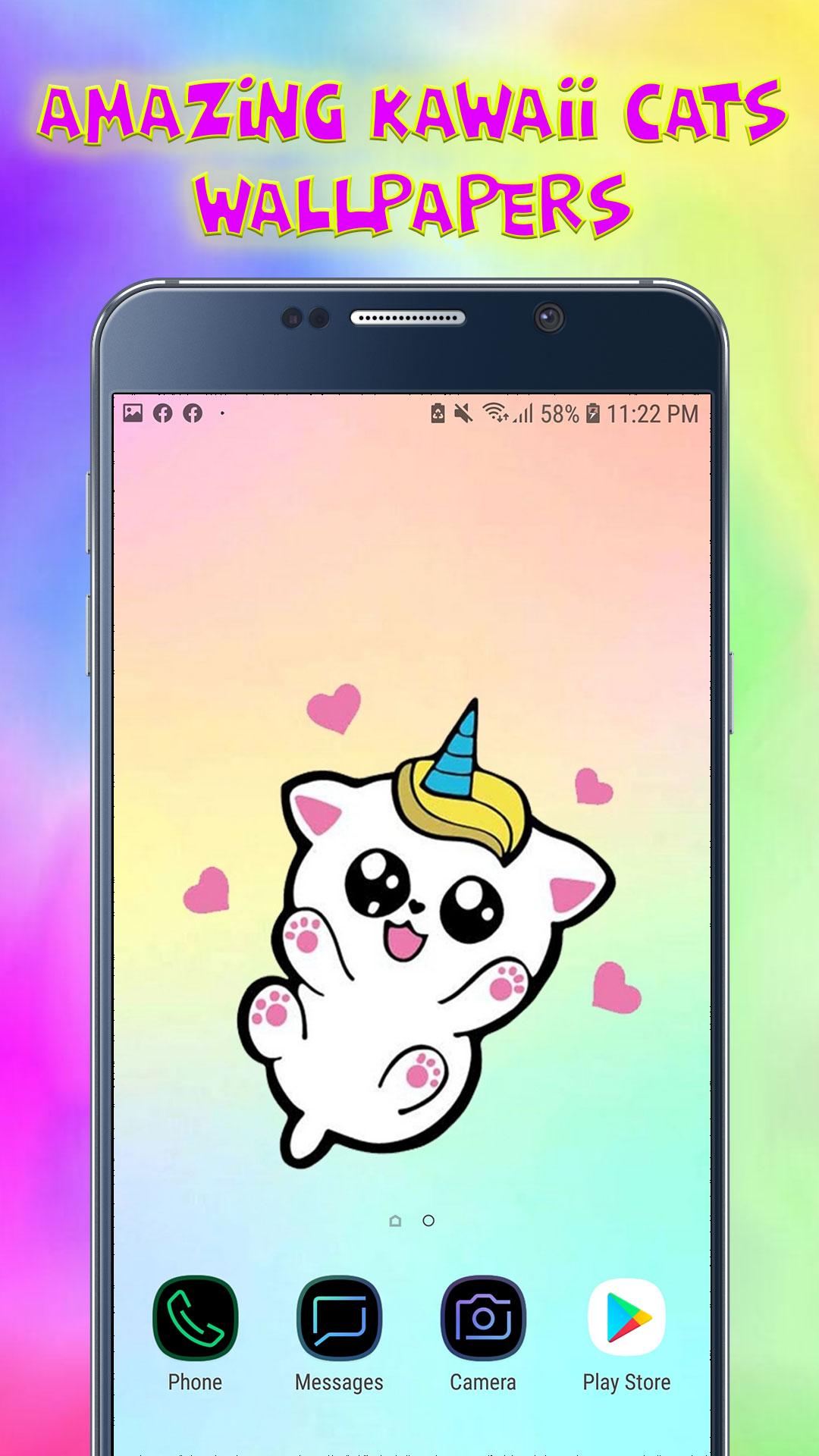 Amazing Kawaii Cats Wallpapers - Cute Backgrounds