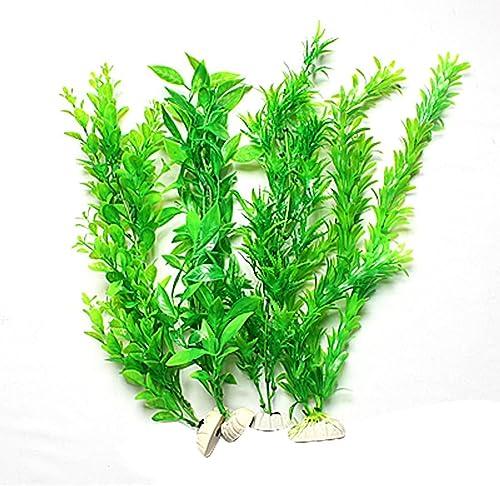 Mallofusa Fish Tank Aquarium Emulational Plants Ornament, 4 by 14.5-Inch, Green