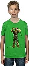 Star Wars Boys Chewbacca Christmas Lights T-Shirt