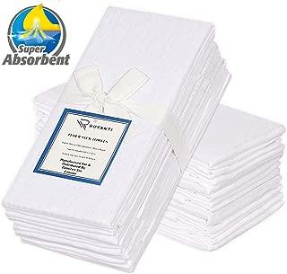 Ruvanti 12 Pack Extra Large Flour Sack Dish Towels (30