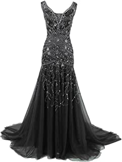 2020 Crystals Mermaid Mother of The Bride Dresses Long Prom Gowns