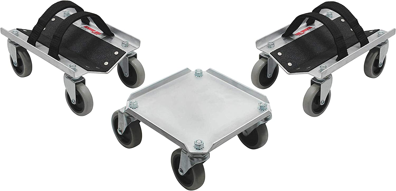 Extreme Max 5800.0225 V-Slide Snowmobile Dolly System - Aluminum