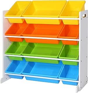 Estantería para Legos y juguetes de tablero MDF y plástico