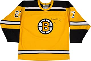 Bobby Orr Signed Boston Bruins Replica Rookie Jersey LE 118/144 PSA I73596