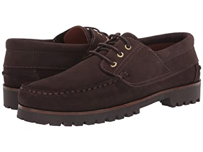 Aquatalia Dax (Dark Brown Suede) Men