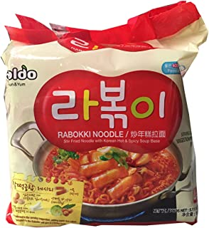 Paldo Korean Ramen Family Pack (Rabokki)