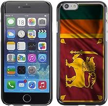 FJCases Sri Lanka Sri Lankan Waving Flag Slim & Thin Hard Case Cover for Apple iPhone 7 / iPhone 8