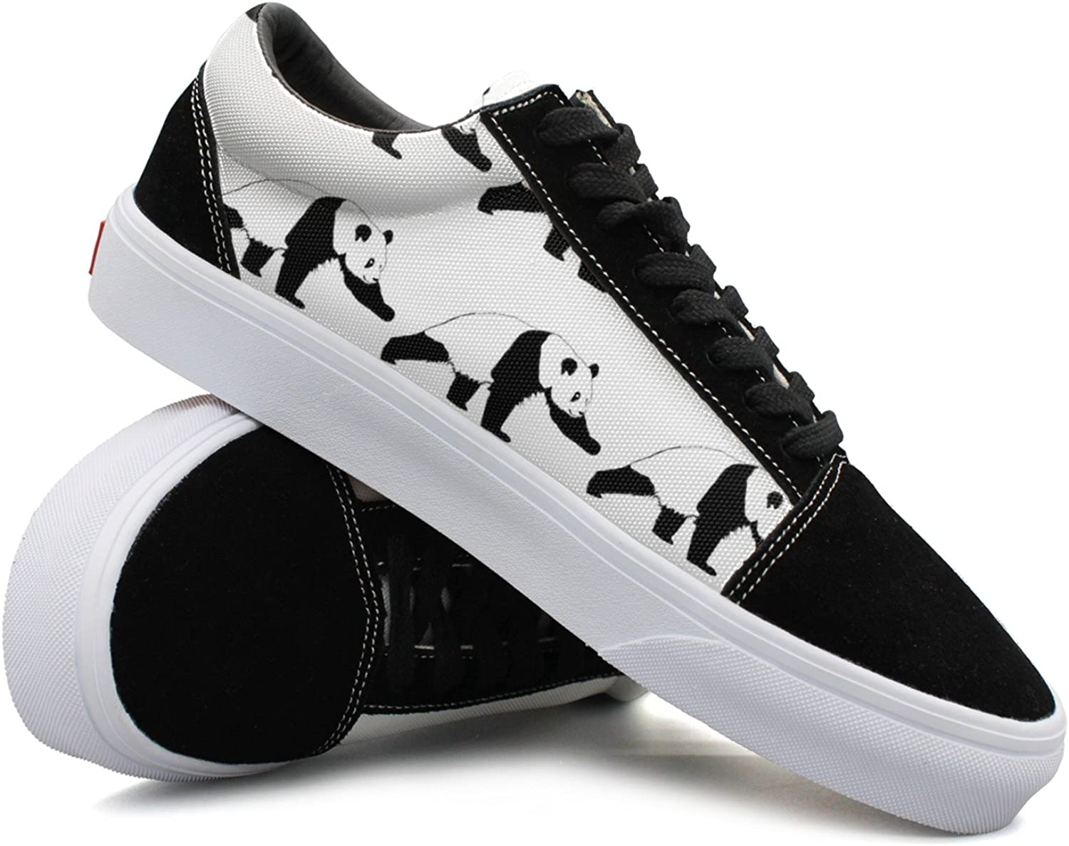 Panda Climbing Women Casual Sneakers shoes Canvas Cool Low Top Trainers