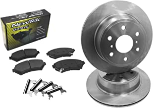 OE Series Rotors + Ceramic Pads Max Brakes Rear Premium Brake Kit Fits: 2004 04 2005 05 2006 06 2007 07 2008 08 Cadillac SRX KT077542