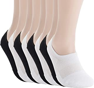 Unisex No Show Flat Cushion Athletic Cotton Sneakers Sports Socks