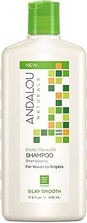 Andalou Naturals Exotic Marula Oil Silky Smooth Shampoo, 11.5 Oz