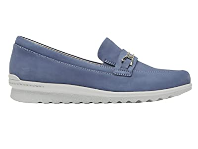Aravon Josie Bit Loafer (Blue) Women