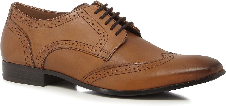 Base London Men Brown Leather 'Abril' Brogues