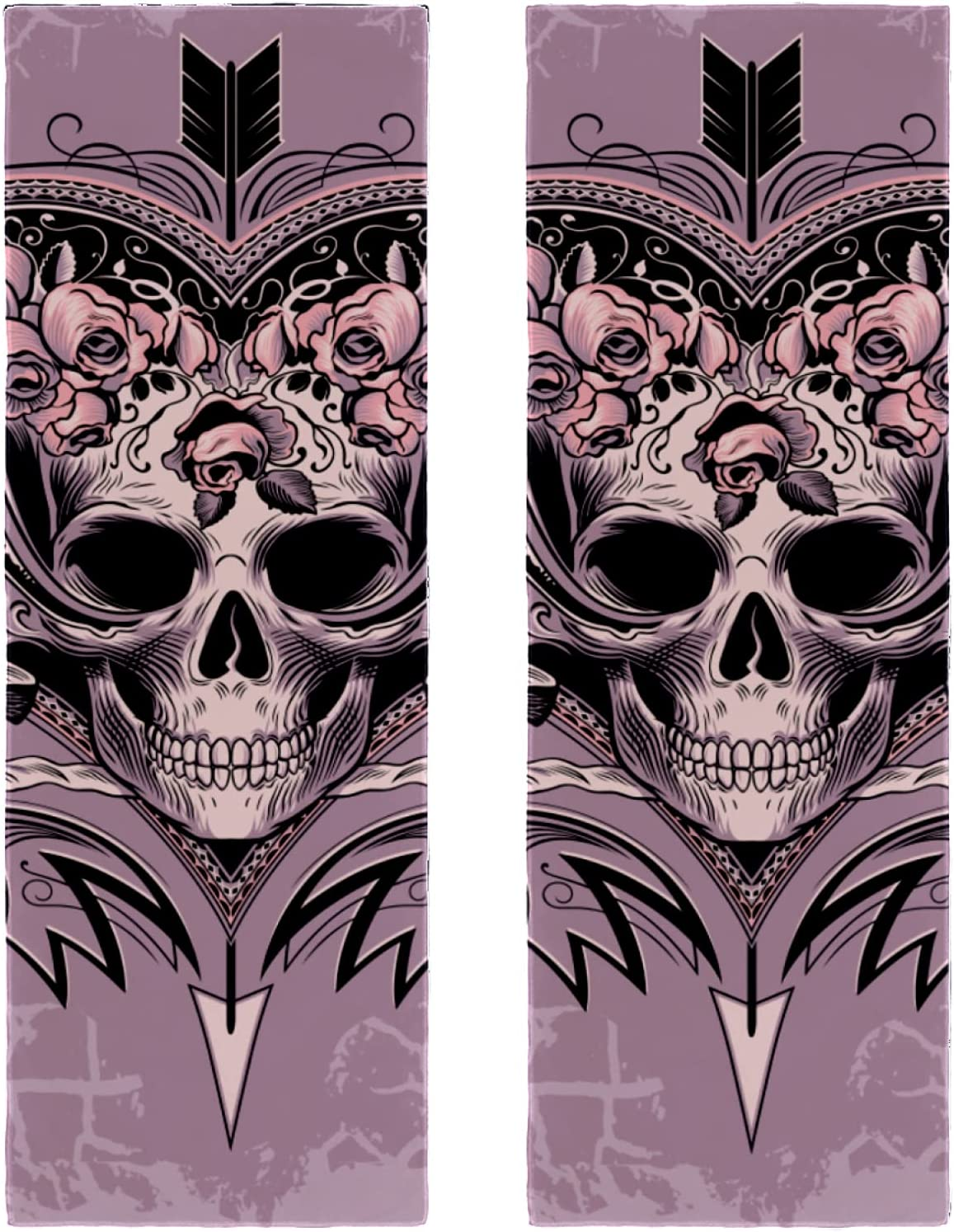 2 Packs Yoga Towel for Ranking TOP3 Gym Hear and Travel Beach Skull Camping 2021 new