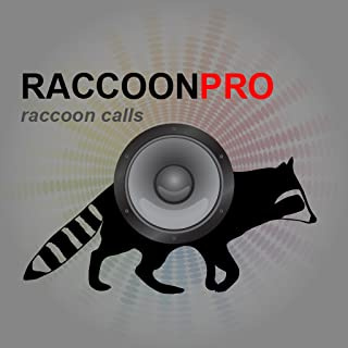REAL Raccoon Calls & Raccoon Sounds App for Raccoon Hunting - BLUETOOTH COMPATIBLE