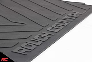 Rough Country Rubber Bed Mat Compatible 2019 Chevy Silverado GMC Sierra 6.5 FT Bed (New Body) Premium Bed Liner RCM5659