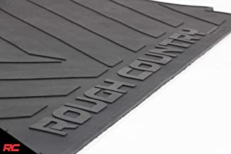 Rough Country Rubber Bed Mat (fits) 2003-2018 RAM Truck 6.4 FT Bed RCM600
