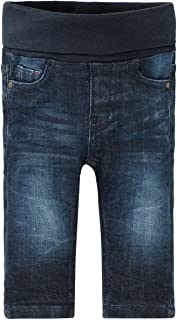 230071955 Staccato Jungen Organic Cotton Langarmshirt B/är Jeans Melange Streifen