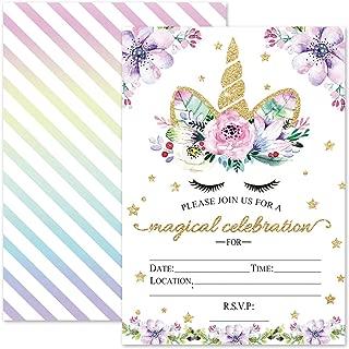 Best magical unicorn invitations Reviews