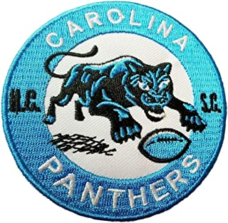 Carolina Panthers Vintage Embroidered Iron on Logo Patch 3x3