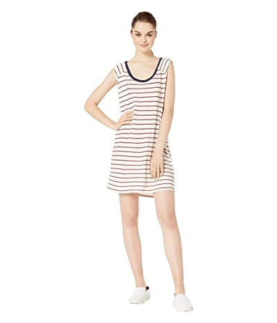 LAmade Americana Dress in USA Stripe Vintage Jersey (Navy/Red Stripe) Women