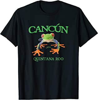 Cancun, Quintana Roo, Tree Frog T-Shirt