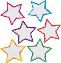 Fun Express Star Dry Erase Magnets - 12 Pieces - Educational and Learning Activities for Kids