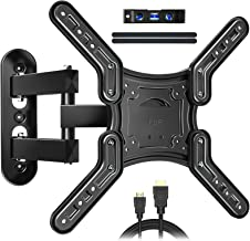 JUSTSTONE Full Motion TV Wall Mount for Most 26-60 Inch LED, LCD TVs, Tilt TV Bracket with Swivel Articulating Arms, up to...