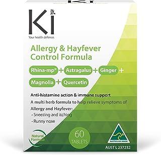Ki Allergy & Hayfever Control Formula 60 Tablets