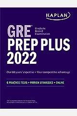 GRE Prep Plus 2022: 6 Practice Tests + Proven Strategies + Online (Kaplan Test Prep) Kindle Edition