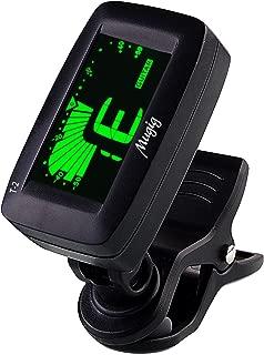 Mugig ST-2 Clip-On Tuner, for Guitar, Bass, Ukulele, Chromatic Instruments