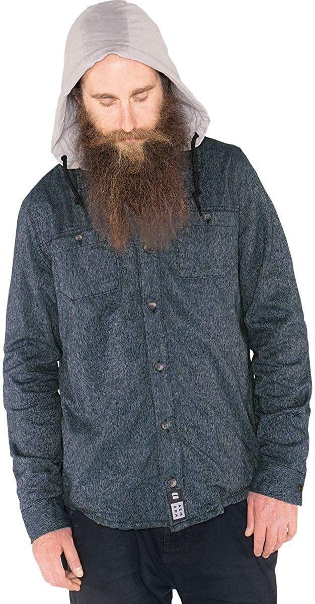 Armada Reading Hooded Flannel 2021 autumn and winter new - Shirt Ranking TOP4 Men's