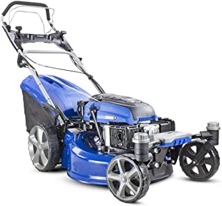 360 grados de rotación de las cortadoras de gasolina rueda delantera,Blue