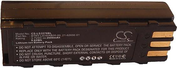 vhbw Batería adecuada para lectores de código de barras KT-BTYMT-01R (2600mAh, 3.7V, Li-Ion)