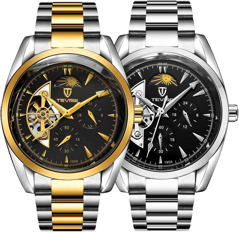 Envíos y devoluciones gratis. Baoblaze 1pieza Reloj Color de oro + Reloj Color Color Color de Plata para Hombre Estilo de Negocio  a la venta