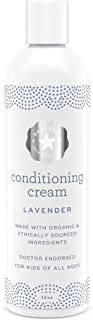 Organic Lavender Conditioner - EWG VERIFIED - 12 Fluid Ounces Family Size - No Chemicals, Sulphates, Parabens or Phosphate...