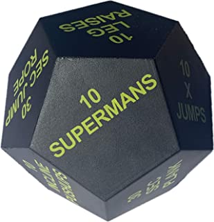 Series 8 Fitness Exercise Dice 2020 Edition - Bright Green