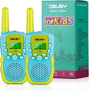 Obuby Walkie Talkies for Kids, 22 Channels 2 Way Radio Kid Toy Gift 3 KMs Long Range with..