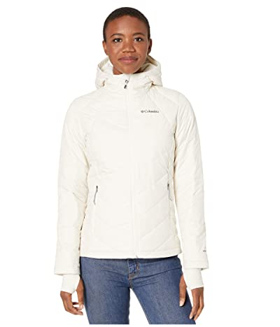 Columbia Heavenly Hooded Jacket (Chalk) Women