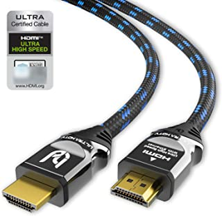 Ultra HDTV 8K HDMI kabel - HDMI 2.1, 48 Gbit/s, 4K @ 120Hz / 8K @ 60Hz, Dynamic HDR-10 +, eARC, Variable Refresh Rate (VR...