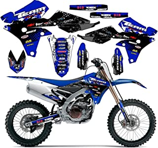 Team Racing Graphics kit compatible with Yamaha 2002-2004 YZ 125/250, SCATTER