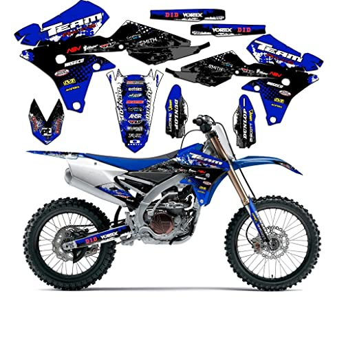 Yamaha Yz Graphics Kit Amazon Com