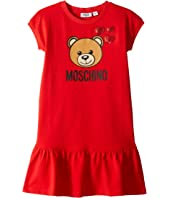 Moschino Kids - Heart Embroidery Dress (Big Kids)