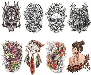 INTVN Realistische Temporäre Tattoos Aufkleber, Wasserdicht